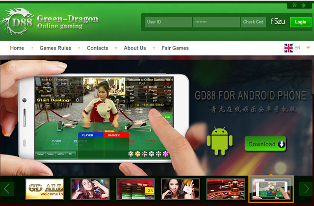 Green Dragon Online Casino - Bosbet99