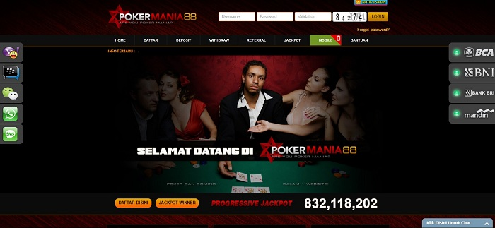 Pokermania88 - Bosbet99